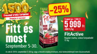FitActive akció a Fressnapfban!