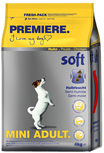 PREMIERE Soft adult mini csirke 4kg