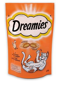 Dreamies macska jutalomfalat 25g/60g/180g Pl. 60g