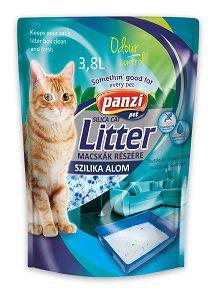 PANZI macska alom szilika 3,8l