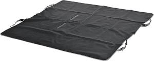 fit+fun üléstakaró fekete szürke 150x145 cm
