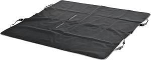 fit+fun üléstakaró fekete szürke 150×145 cm