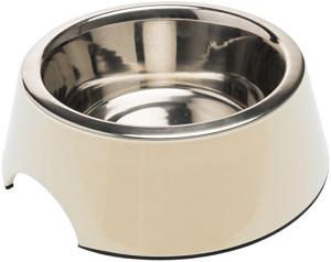 AniOne kutyatál melamin fehér 350 ml