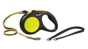 Flexi New Classic zsinóros sárga M 5m