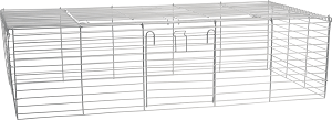 AniOne ketrecrács szürke S 102x52x28 cm