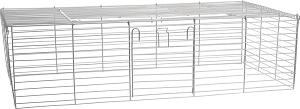 AniOne ketrecrács szürke M 120x56x28 cm