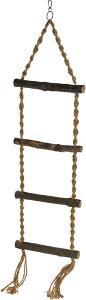 AniOne madárlétra kötélből 4 fokos 85 cm