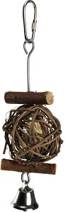 AniOne madár mászóka falabda csengővel 5 cm