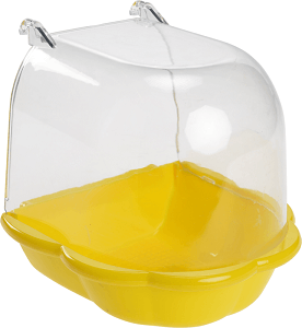 AniOne madárfürdető sárga/kék 12x12 cm