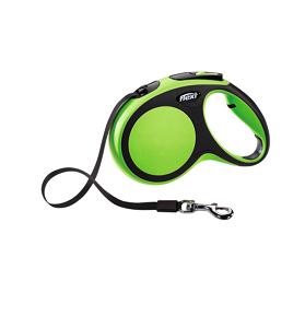 Flexi New Comfort szalagos zöld L 5m
