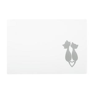 AniOne alátét cicasziluett 44×30 cm