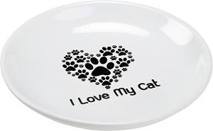 AniOne kerámiatányér I love my cat 200 ml