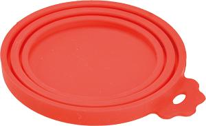 AniOne szilikonfedél piros 10x8 cm