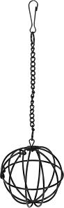 AniOne szénatartó fém labda fekete
