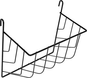AniOne szénatartó fém fekete M