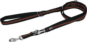 AniOne kutya póráz Comfort fekete M 2m