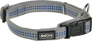 AniOne kutya nyakörv Comfort szürke L 40-63 cm