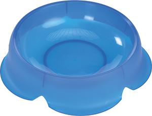 AniOne műanyag tál Flower kék 200 ml