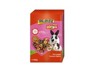 MULTIFIT kisemlős eledel Party Loops 500 g