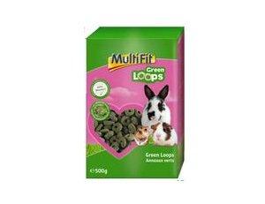 MULTIFIT kisemlős eledel Green Loops 500 g