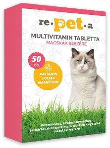 REPETA tabletta (kutya/macska) Pl. multivitamin cica 50db