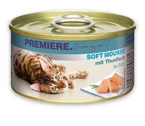PREMIERE konzerv (macska) 85g Pl. Soft Mousse 85g