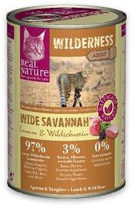 6+1 AKCIÓ - Real Nature Wilderness konzerv (macska) 400g (az ár 6+1 db vásárlása esetén)
