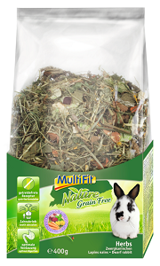 MULTIFIT Nature törpenyúl eleség 400 g