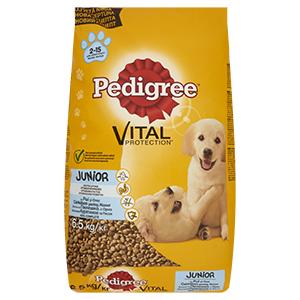 Pedigree száraz eledel (kutya/többféle) Pl. Junior 6,5 kg