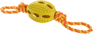 AniOne kutyajáték rugby kötéllel S 9,5 cm