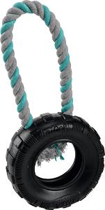 AniOne kutyajáték kerék kötéllel 15 cm