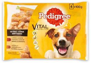 Pedigree tasakos nedves eledel (kutya/többféle) 4x100g