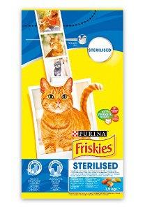 FRISKIES száraz eledel (macska/többféle) 1,5kg/1,7kg