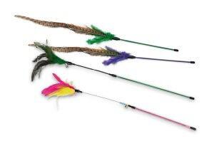 AniOne cicajáték rövid toll 60cm