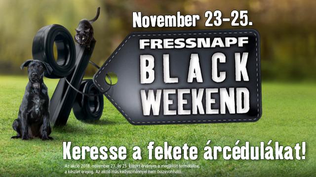 Black Weekend akció a Fressnapf áruházakban