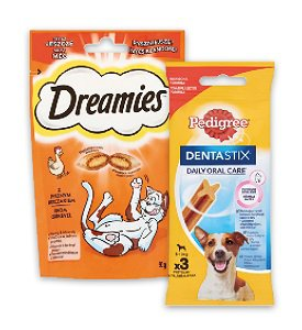 20% kedvezmény - Pedigree/Dreamies jutalomfalatok széles választékban