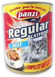PANZI konzerv (macska) Pl. marha 800g