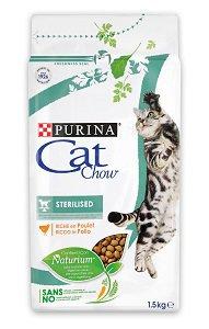 CAT CHOW száraz eledel (macska) 1,5 kg Pl. Steril