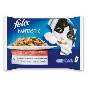 FELIX Fantastic/Sensation tasak MP (macska) 4x100g