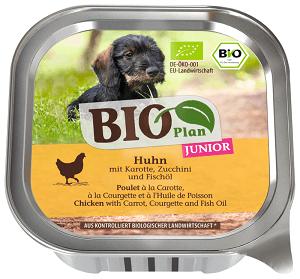 BIOPLAN tálka junior csirke&répa 150g