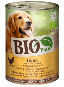BIOPLAN konzerv adult csirke&alma 400g