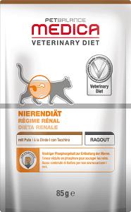 Pet Balance Medica tasak vesekímélő pulyka 85g