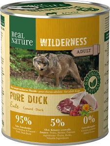 REAL NATURE WILDERNESS konzerv adult pure kacsa 800g