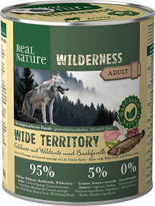 REAL NATURE WILDERNESS konzerv adult wide territory 800g