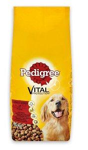 Pedigree száraz kutya eledel (többféle) Pl. marha&baromfi 15kg