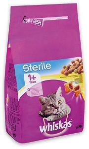 Whiskas száraz macska eledel (többféle) 1,4kg