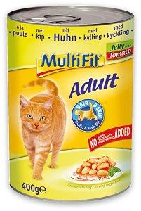 -20% a legnépszerűbb MultiFit macska eledelekre Pl. MultiFit konzerv zselé adult csirke 400g
