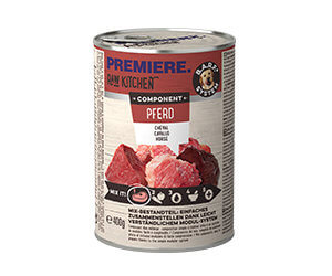 PREMIERE Raw konzerv lóhús 400g