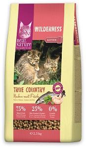 REAL NATURE WILDERNESS macska száraz eledel 2,5kg