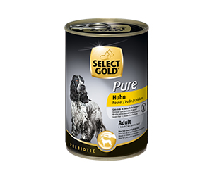 SELECT GOLD Pure konzerv adult csirke 400g